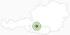 Langlaufgebiet Katschberg - Rennweg/Pöllatal im Lieser-/ Maltatal: Position auf der Karte