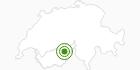 Langlaufgebiet Belalp in Brig / Aletsch: Position auf der Karte