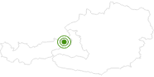 Langlaufgebiet Salzburger Saalachtal - Lofer, St. Martin, Weißbach, Unken im Saalachtal: Position auf der Karte