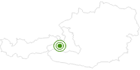 Langlaufgebiet Zell am See - Kaprun in Zell am See - Kaprun: Position auf der Karte