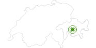 Langlaufgebiet Savognin in Savognin Bivio Albula: Position auf der Karte