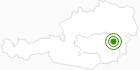 Langlaufgebiet Joglland - Waldheimat in der Oststeiermark: Position auf der Karte