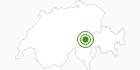 Langlaufgebiet Disentis Sedrun in Disentis Sedrun: Position auf der Karte
