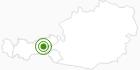 Langlaufgebiet Fügen - Kaltenbach im Zillertal: Position auf der Karte