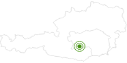 Cross-Country Skiing Area Zirbitzkogel-Grebenzen Nature Park in the Murtal Holiday Region: Position on map