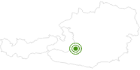 Langlaufgebiet Mauterndorf - Tweng am Lungau: Position auf der Karte