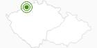 Cross-Country Skiing Area Sturmer Bournak Krusne Hory: Position on map