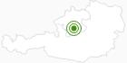 Langlaufgebiet Kasberg Grünau im Salzkammergut: Position auf der Karte
