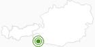 Langlaufgebiet Obertilliach in Osttirol: Position auf der Karte