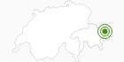 Langlaufgebiet Scuol in Scuol Samnaun Val Müstair: Position auf der Karte