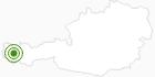 Langlaufgebiet Lech Zürs am Arlberg am Arlberg: Position auf der Karte