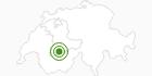 Langlaufgebiet Adelboden in Adelboden - Frutigen: Position auf der Karte