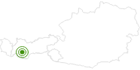 Langlaufgebiet Kaunertal im Tiroler Oberland: Position auf der Karte