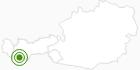 Langlaufgebiet Nauders am Reschenpass im Tiroler Oberland: Position auf der Karte