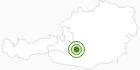 Langlaufgebiet Langlaufzentrum Lignitz - Mariapfarr am Lungau: Position auf der Karte