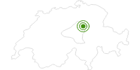 Langlaufgebiet Alpthal in Schwyz: Position auf der Karte