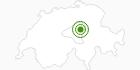 Langlaufgebiet Stoos in Schwyz: Position auf der Karte