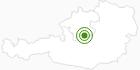 Langlaufgebiet Hinterstoder in Pyhrn-Priel: Position auf der Karte