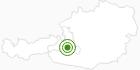 Langlaufgebiet Großarltal im Grossarltal: Position auf der Karte