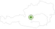 Langlaufgebiet Stoderzinken in Schladming-Dachstein: Position auf der Karte