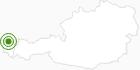 Langlaufgebiet Alberschwende im Bregenzerwald: Position auf der Karte