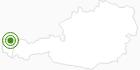 Langlaufgebiet Hochhäderich im Bregenzerwald: Position auf der Karte