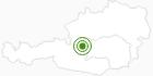 Langlaufgebiet Ramsau am Dachstein in Schladming-Dachstein: Position auf der Karte