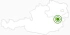 Langlaufgebiet Arabichl – Kirchberg am Wechsel in den Wiener Alpen in Niederösterreich: Position auf der Karte