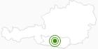 Langlaufgebiet Bad Kleinkirchheim in der Region Nockberge Bad Kleinkirchheim: Position auf der Karte