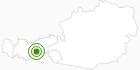 Langlaufgebiet Bergeralm im Wipptal: Position auf der Karte