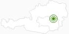 Langlaufgebiet Veitsch in der Hochsteiermark: Position auf der Karte