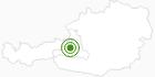 Langlaufgebiet Hochkönig am Hochkönig: Position auf der Karte