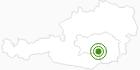 Langlaufgebiet Gaberl - Salzstiegl in der Urlaubsregion Murtal: Position auf der Karte
