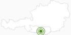 Langlaufgebiet Gerlitzen Alpe - Treffen am Ossiacher See - Klösterle in Villach-Warmbad / Faaker See / Ossiacher See: Position auf der Karte