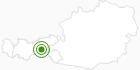Langlaufgebiet Tux-Finkenberg im Zillertal: Position auf der Karte