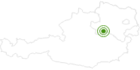 Langlaufgebiet Lackenhof Ötscher im Mostviertel: Position auf der Karte