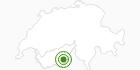 Langlaufgebiet Saastal im Saastal: Position auf der Karte