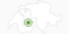 Langlaufgebiet Kandersteg im Kandertal: Position auf der Karte