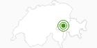Langlaufgebiet Obersaxen Mundaun Val Lumnezia in Surselva: Position auf der Karte