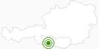 Langlaufgebiet Weissbriach Gitschtal in Nassfeld-Pressegger See - Lesachtal - Weissensee: Position auf der Karte