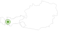 Cross-Country Skiing Area Venet in Tyrol West: Position on map