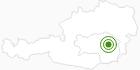 Langlaufgebiet Teichalm - Sommeralm in der Oststeiermark: Position auf der Karte