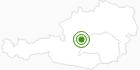 Langlaufgebiet Bad Mitterndorf - Pichl - Tauplitz - Tauplitzalm in Ausseerland - Salzkammergut: Position auf der Karte