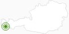 Langlaufgebiet Silvretta-Bielerhöhe in Montafon: Position auf der Karte