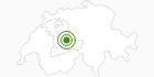 Langlaufgebiet Innereriz in Interlaken: Position auf der Karte
