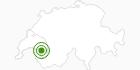 Langlaufgebiet Les Mosses in Genferseegebiet: Position auf der Karte