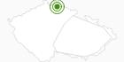 Cross-Country Skiing Area Bedrichov Jiserske Hory: Position on map