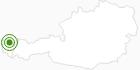 Langlaufgebiet Schetteregg im Bregenzerwald: Position auf der Karte
