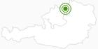 Langlaufgebiet Sandl im Mühlviertel: Position auf der Karte