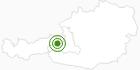 Cross-Country Skiing Area Saalbach Hinterglemm Leogang in Saalbach-Hinterglemm: Position on map